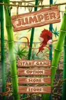 Main screen and Interface of Jumper by munlyne