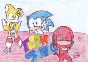 Team Sonic by LeniProduction