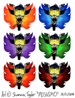 Gang Emblem 5 - Various colours by moshimo