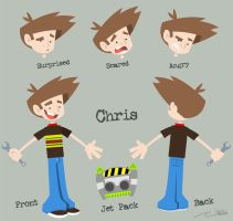 Chris Character Sheet by reed682