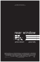 'Rear Window' Movie Poster by Tahimek