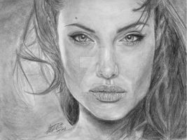 Angelina Jolie by anmeher