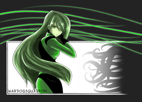 Shego in 'Tear' Look by KenjiroHosokawa