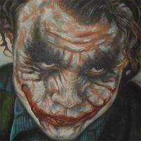 Joker In The Cell Painting by JonMckenzie