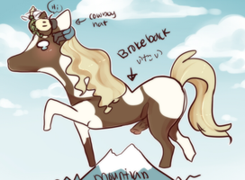 Fucked up night and I wasnt even drunk horse by WanNyan