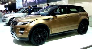 Gold Evoque by toyonda