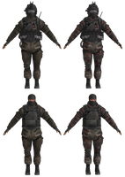 CoDMW2 Artic Paratroopers Pack by TRDaz
