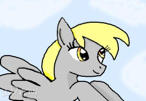 Derpy dome in udraw by cartoonfan88