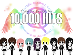10,000 HITS by maeoneechan