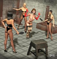 DA Ladies Dungeon - Cecy by Driver651