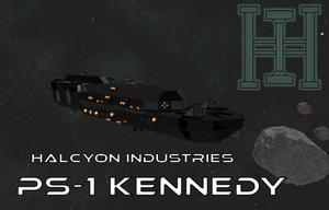 Space Engineers - PS-1 Kennedy by Kerian-halcyon