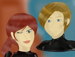 leon and claire by Soraya-Mendez