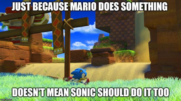 Just Because mario does it by teamrandom21
