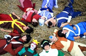 Avatar Group (Avatar: The last Airbender) by Itakichan