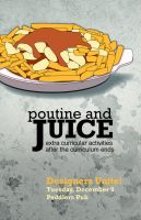 Poutine and Juice by DamagedInnocence