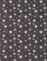 White stars on Black by FredtheCow-Stock