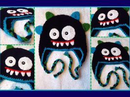 Monster hat by argentinian-queen