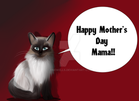 happy mothers day painting by 11newells