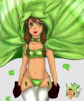 Humanized Chespin by Nibirhu89