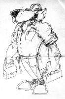 construction dog by ARMORMAN