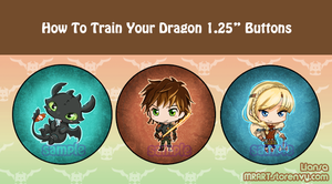 HTTYD 2 Buttons by Liansa