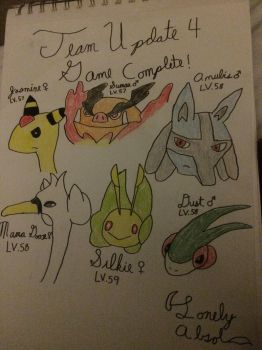 Final Team Update for White2! by LonelyAbsol