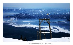 Winter in the mountains by Ciril
