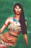 Pocahontas by Dry89