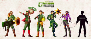 Plants vs Zombies by Synnesai