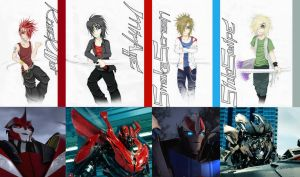 4 hottest guys of Iacon - complete version by Blackanubis2799