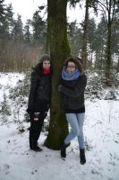 Tree huggers by MollyMotions