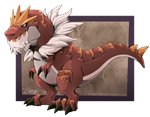 Tyrantrum by Lintufriikki