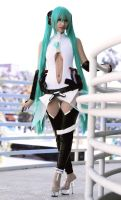 Hatsune Miku Append Cosplay by Aicosu