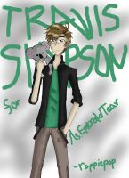 Travis Simpson (for art trade) by roppiepop