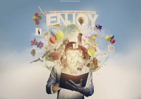 Enjoy Your Childhood (create your photo album) by ObscuriaStudio