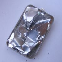 Metal Scraps Rectangle Pendant by Pre-Experience
