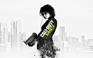Modern Warfare 3 Female Soldier Wallpaper by Martz90