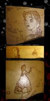 Belle Plaque by thedustyphoenix