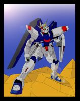 Freedom Gundam Request by TheWax