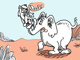 Horton Hears a Derp by DarkwingSnark