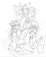 Artist Pile by Meirell