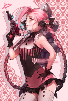 LoL: Heartbuster Jinx by ippus