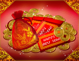 Exoro Choice's 2013 Chinese New Year Cards 17 by ExoroDesigns