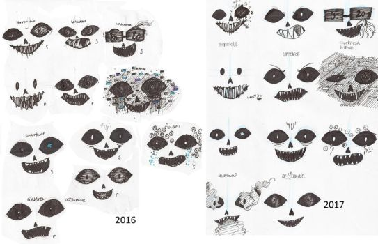 Expressions(undertale) by koulouberi