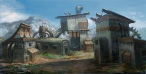 Environment Design by MCfrog