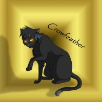 Crowfeather by Mana-ghostwolf