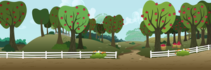 MLP Resource: Bgr 009 (Sweet Apple Acres) by ZuTheSkunk