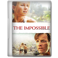 The Impossible (2012) Movie DVD Icon by A-Jaded-Smithy