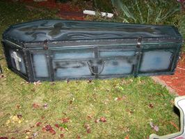 Gothic Casket Coffin by Sannalee01