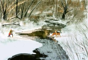 Somewhere around Kansas City, MO by PascalCampion